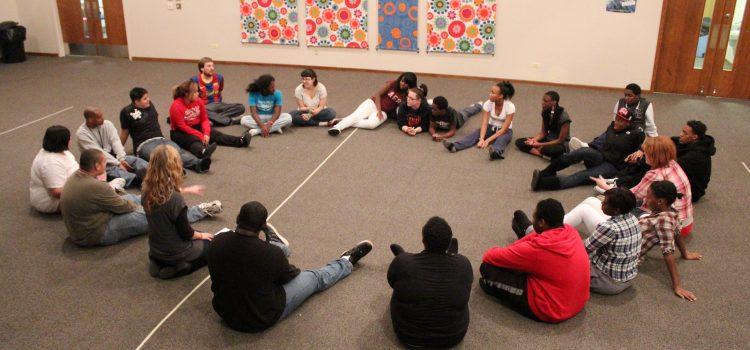 05 H2O teens sitting in circle