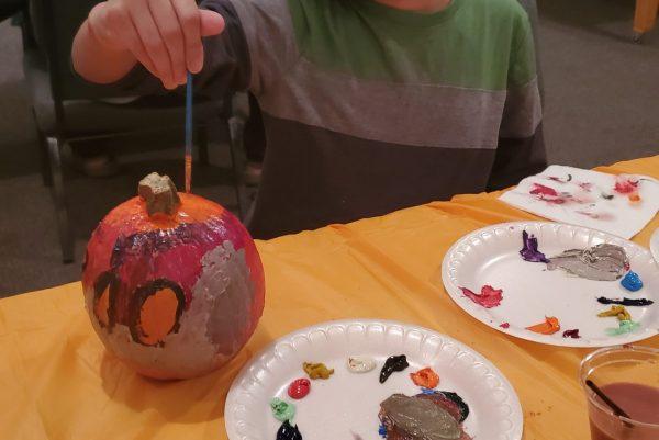 Pumpkin Painting with Bengtson's Pumpkin Farm